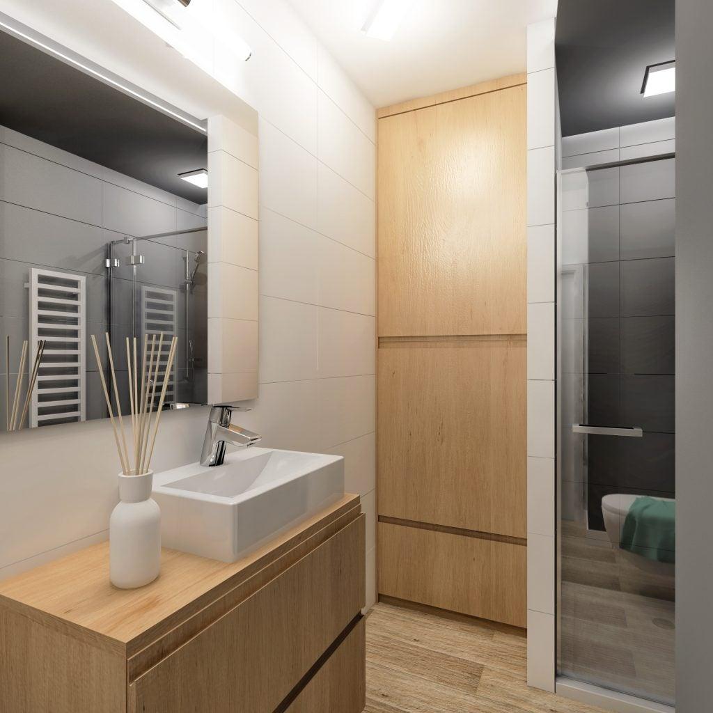 projekt max przyklad mieszkanie dom projektowanie wn trz online. Black Bedroom Furniture Sets. Home Design Ideas