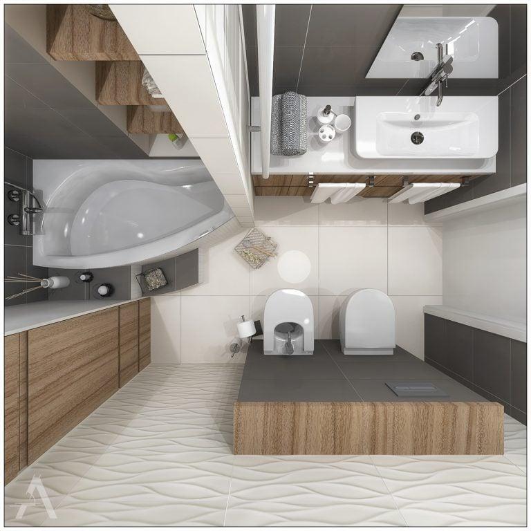 Projektowanie Łazienki 16