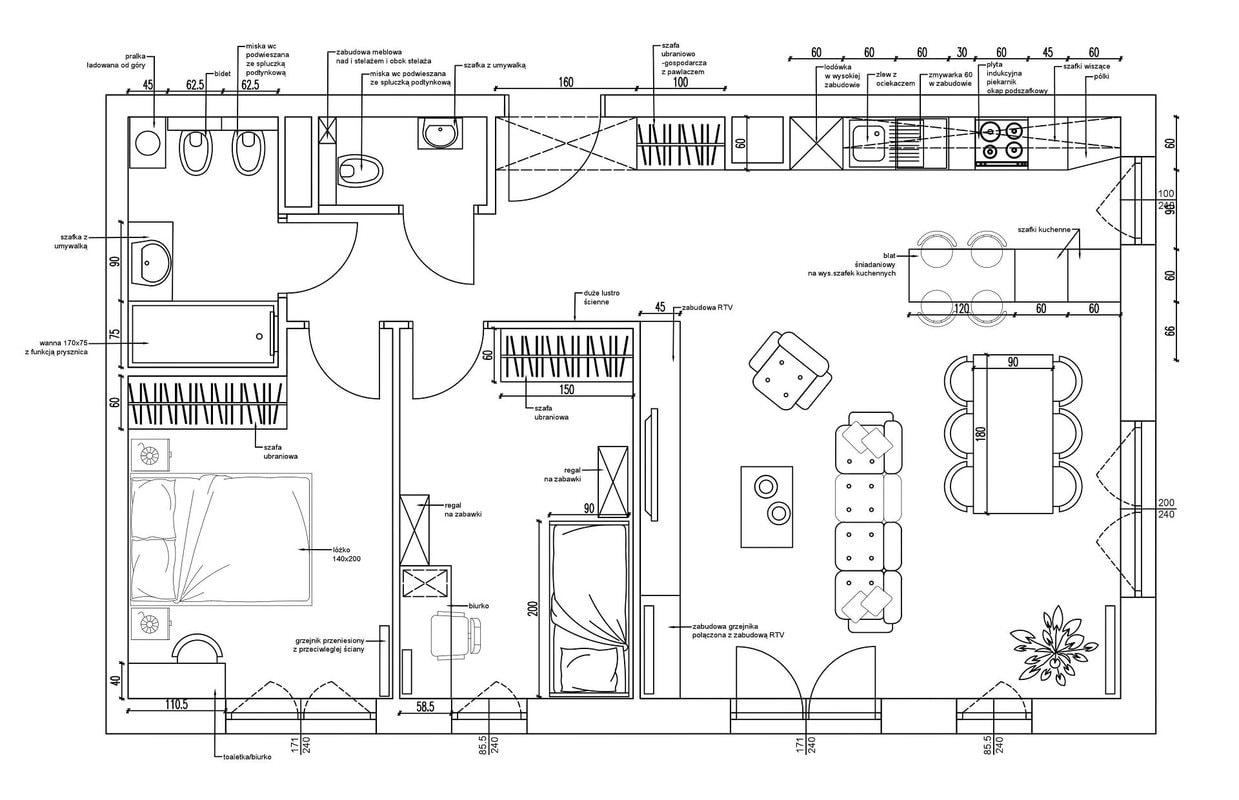 1-Projekt-Koncepcyjny-mieszkanie-Projektowanie-Wnetrz-Online