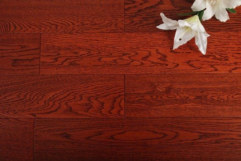 Kuchnia podłoga drewniana