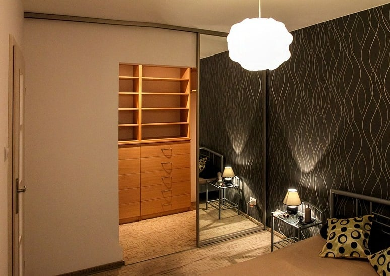 Projektowanie domu Garderoba