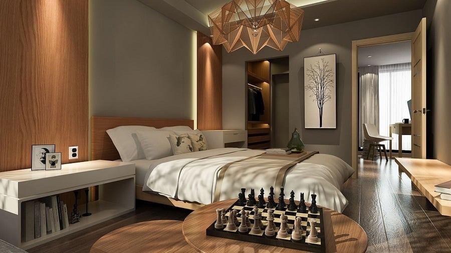 Sypialnia garderoba