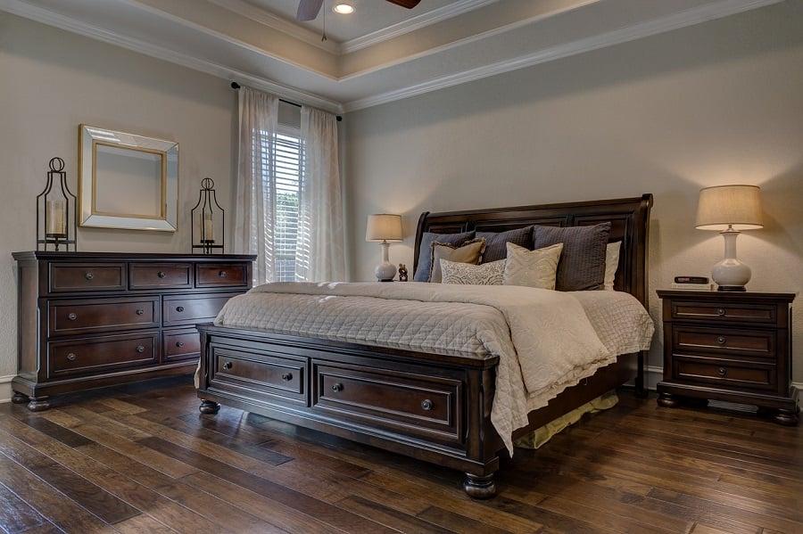 Sypialnia ustawienie łóżka