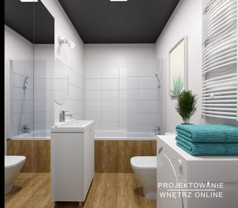 Łazienka pod wynajem
