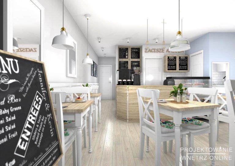 Projekt Restauracji Kawiarni