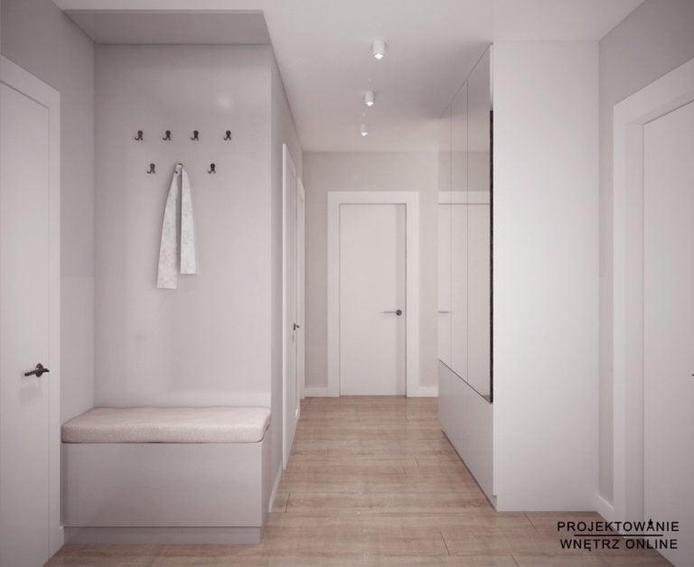 Projekt przedpokoju w mieszkaniu
