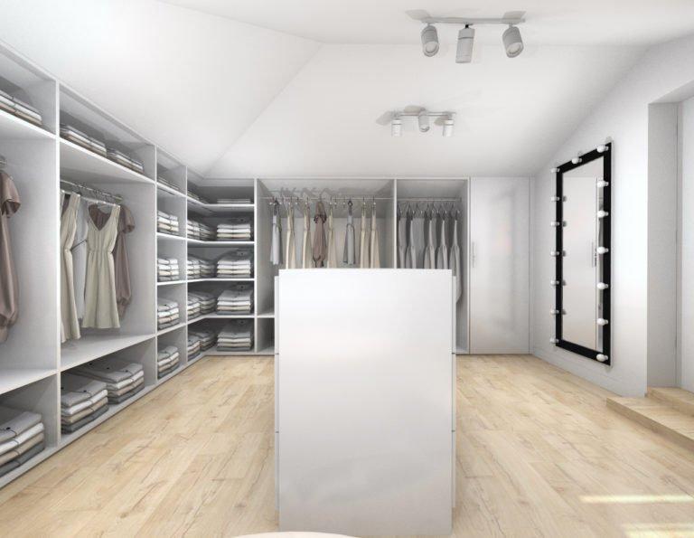 Projektowanie Garderoby 3d