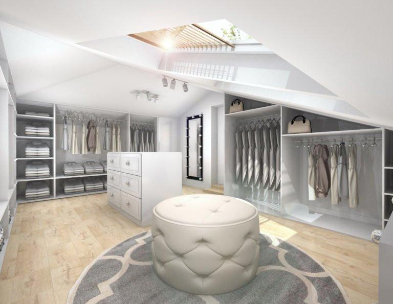 Projekty garderoby online