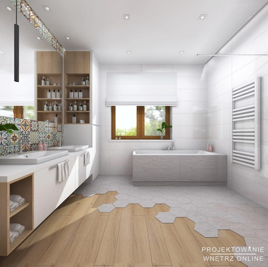 gotowe projekty łazienek
