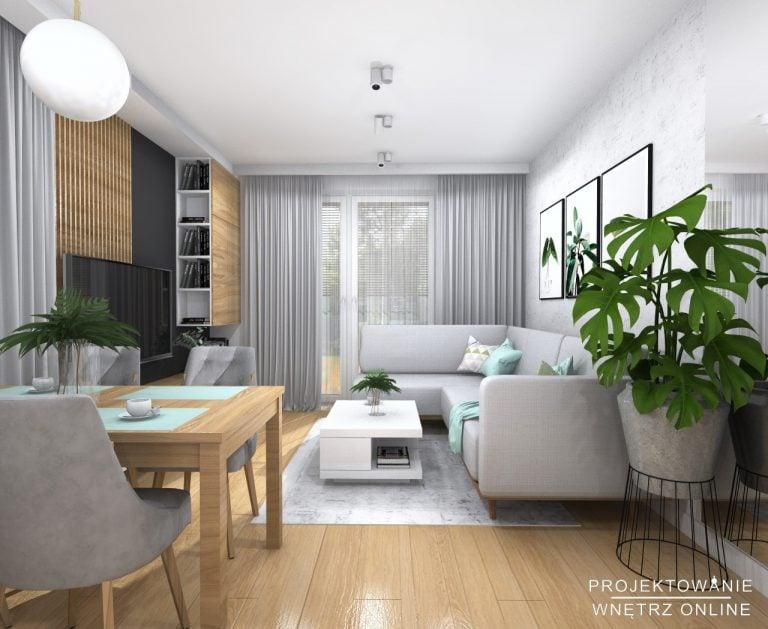 Nowoczesny projekt mieszkania