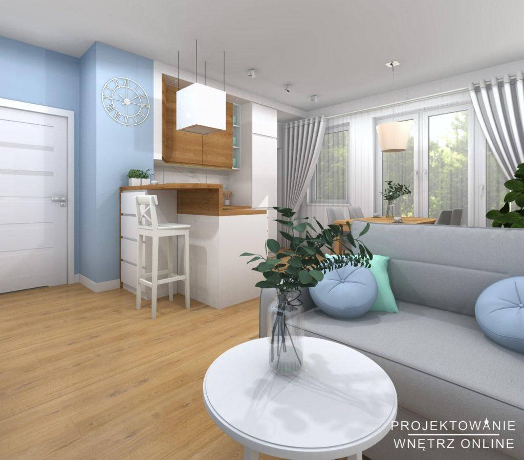 Aranżacja mieszkania w stylu skandynawskim 10