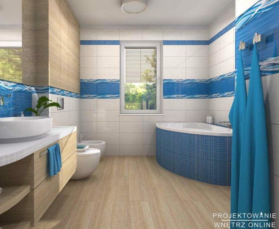 Mozaika w łazience 8