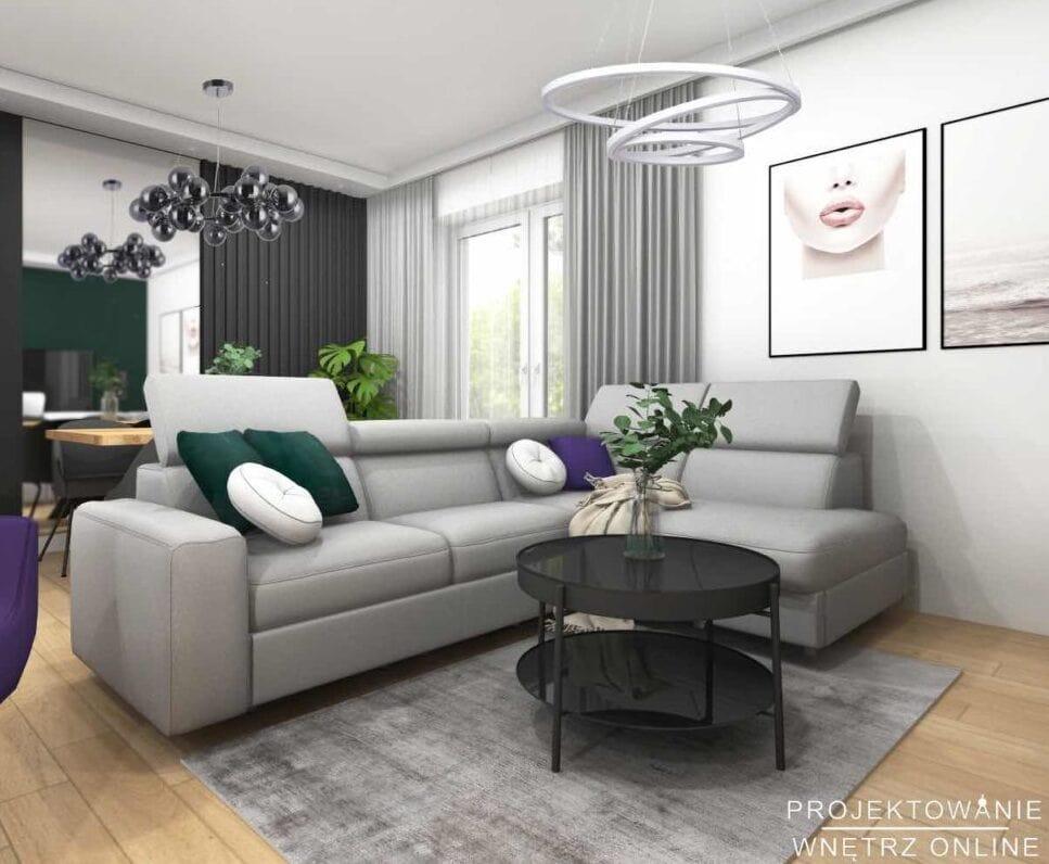 Projekt mieszkania 5-pokojowego 2