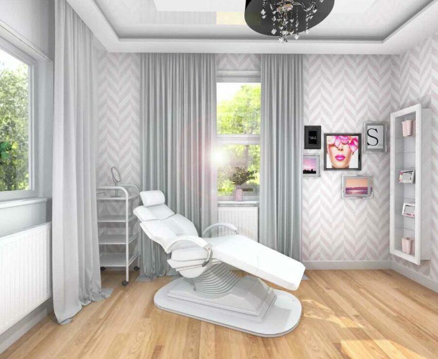 Projekt salonu kosmetycznego 4