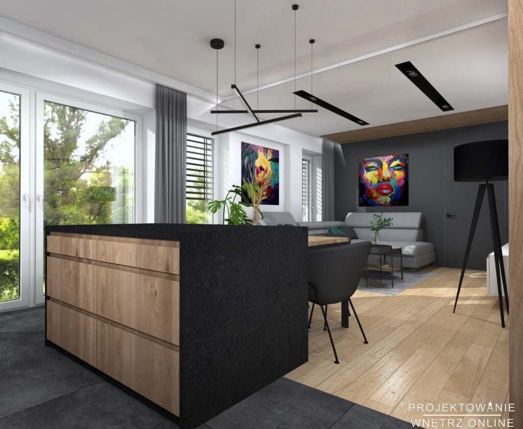 Projekt Mieszkania 60m2 7