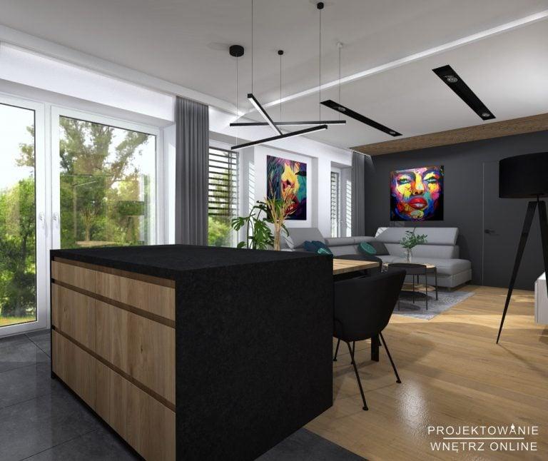 Projekt Mieszkania 60m2