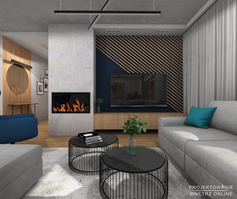 Projekt domu w stylu industrialnym