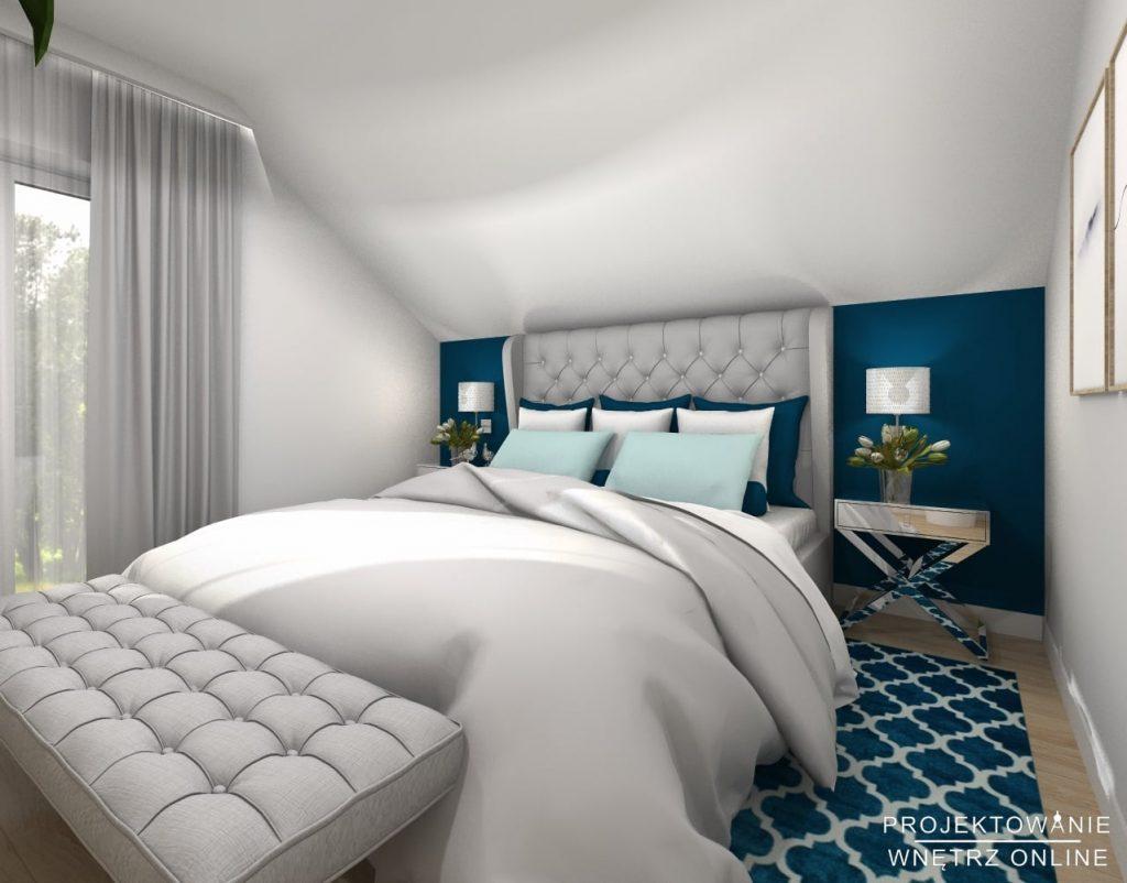 Projekt nowoczesnej sypialni 5