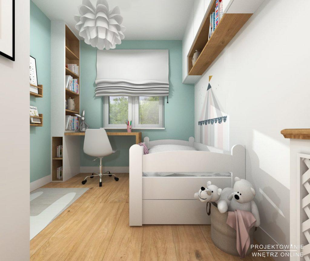 Projekt pokoju dziewczynki 8
