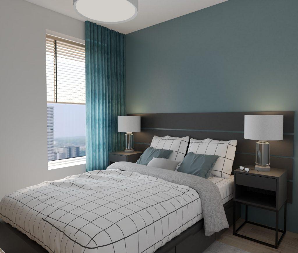 Sypialnia w stylu marynistycznym 6