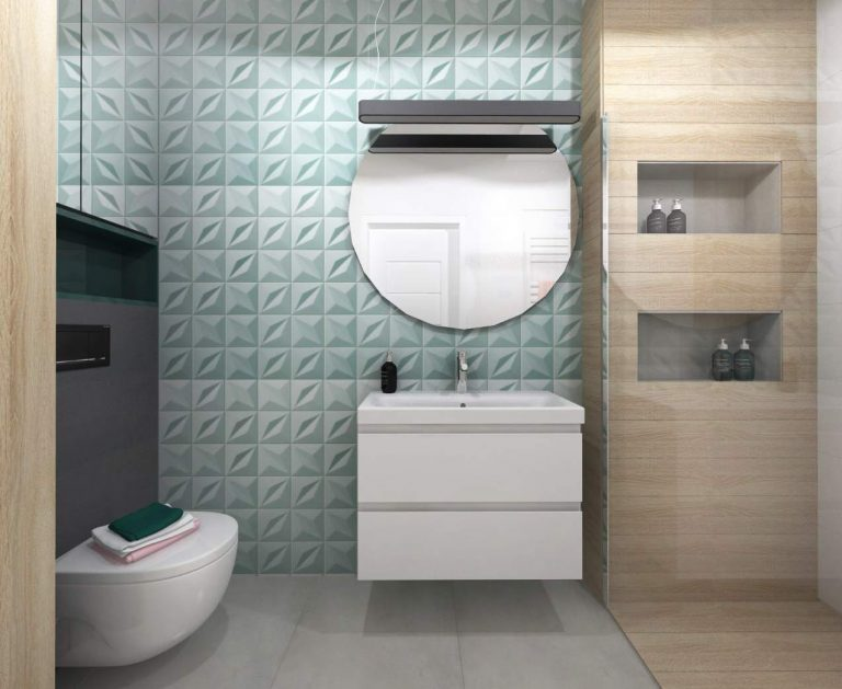 Projekt łazienki Leroy Merlin