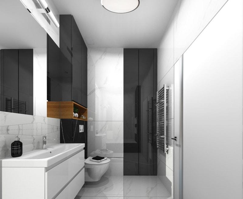 Łazienka minimalistyczna 5