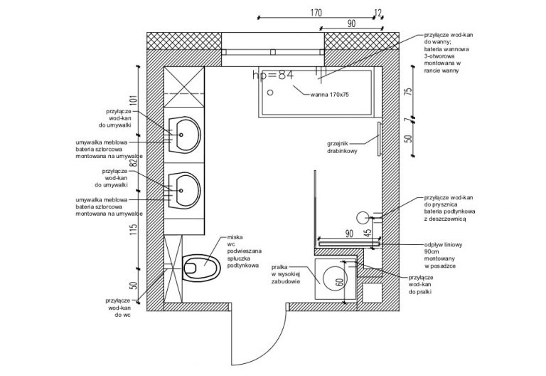 Projektowanie Łazienki 23