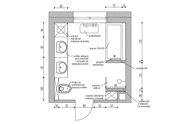 Projektowanie Łazienki 13