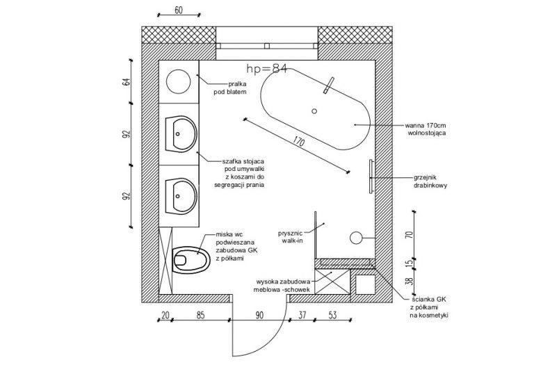 Projektowanie Łazienki 14