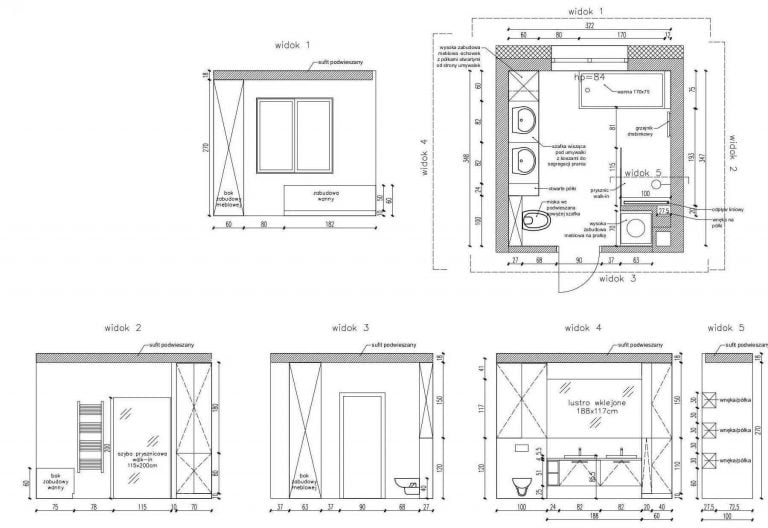 Projektowanie Łazienki 21