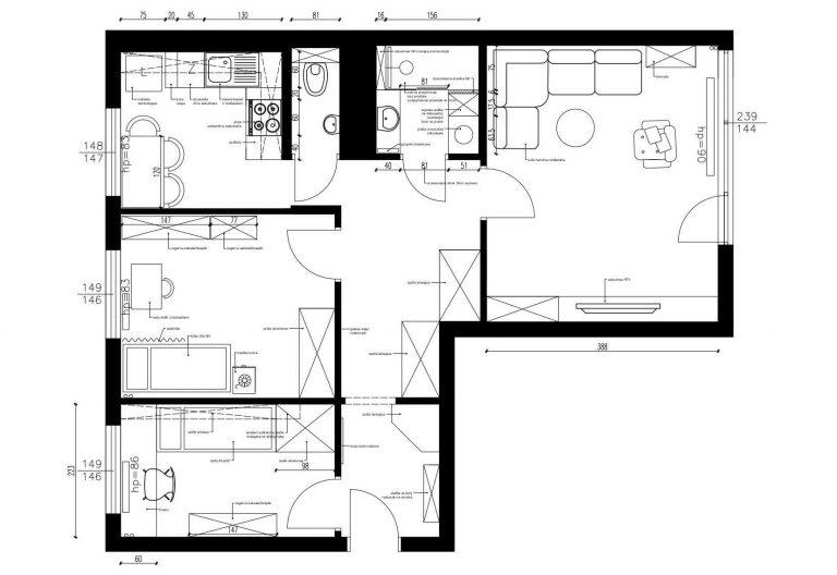 Projektowanie Mieszkania 17