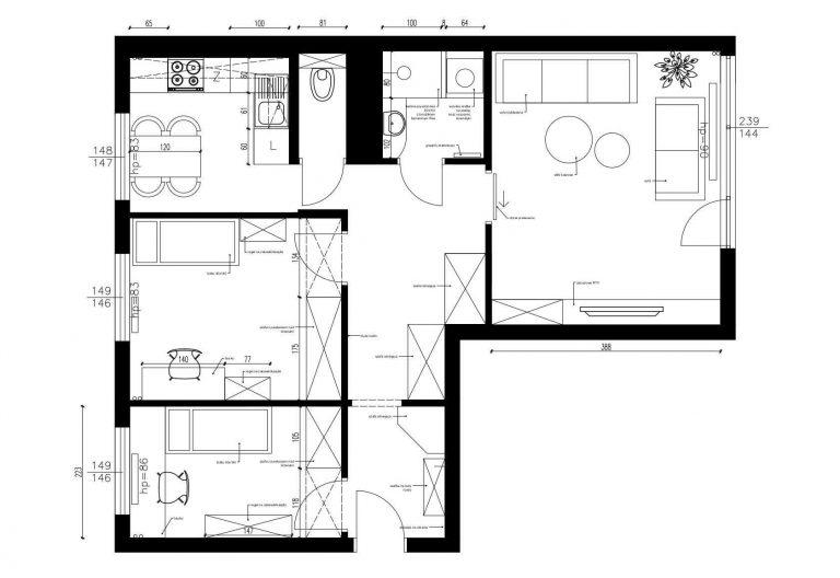 Projektowanie Mieszkania 19