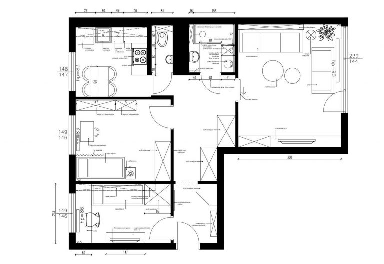 Projektowanie Mieszkania 21