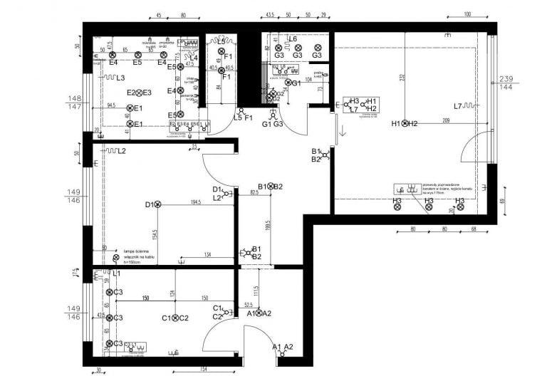 Projektowanie Mieszkania 22