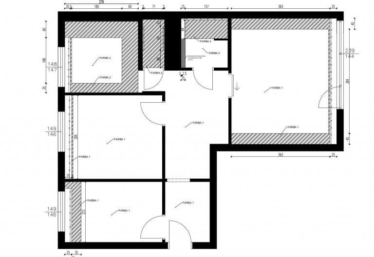 Projektowanie Mieszkania 23