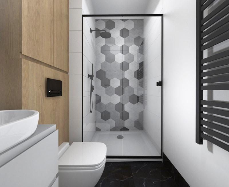 Projekt łazienka Castorama 4