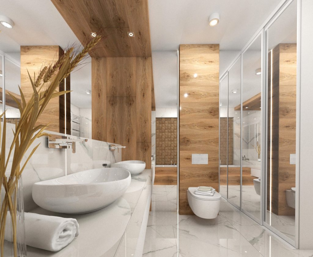 Łazienka w drewnie 4