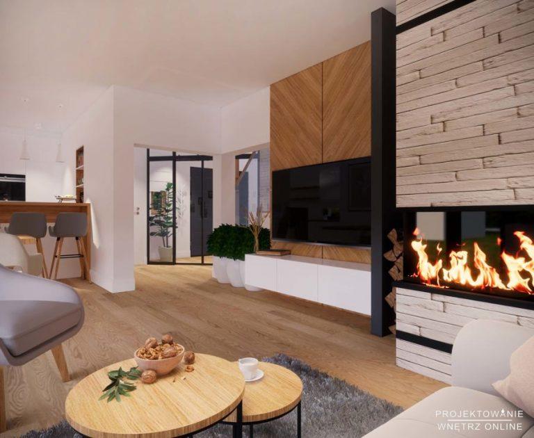 Projekt domu w stylu skandynawskim