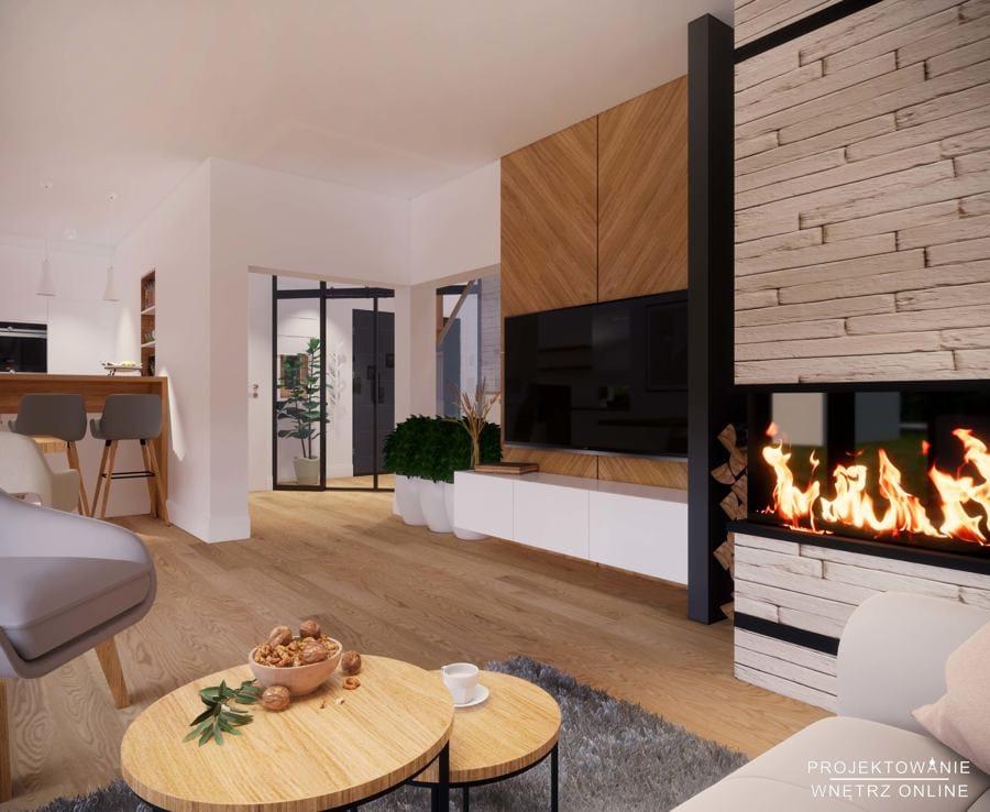 Projekt domu w stylu skandynawskim 5