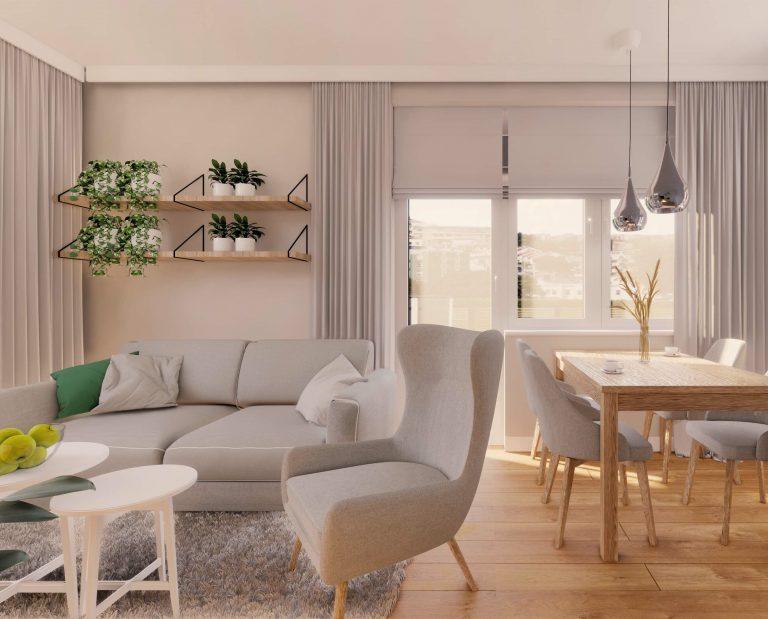Projekt mieszkania IKEA