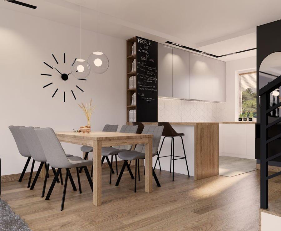 Wnętrza domu w stylu nowoczesnym 6