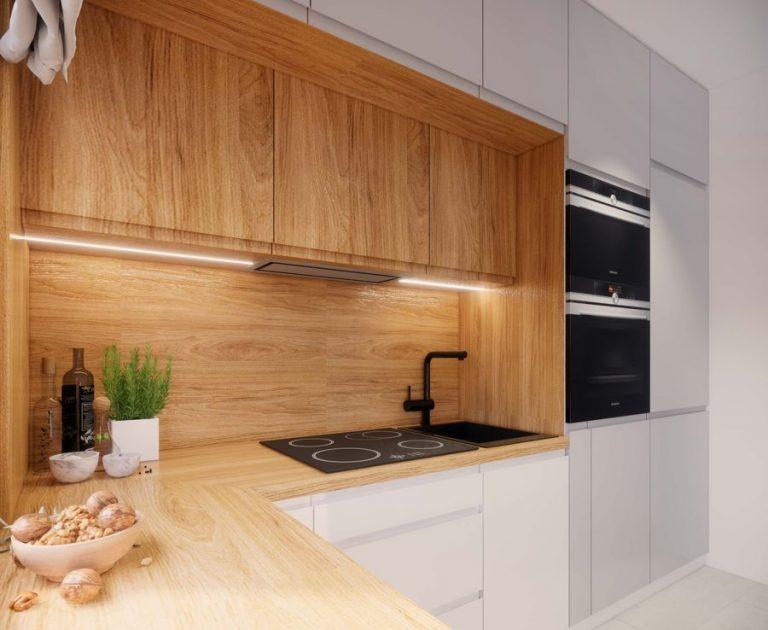 Wystrój kuchni w stylu skandynawskim