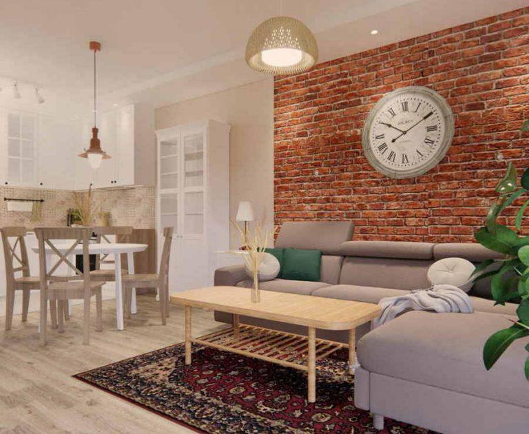 Projekt mieszkania 53m2 IKEA