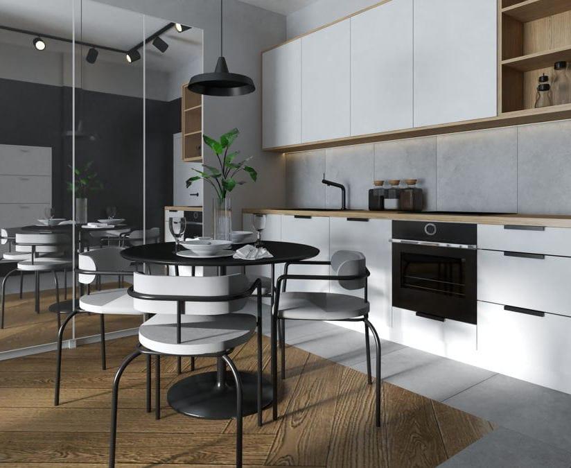 Projekt mieszkania styl nowoczesny 1