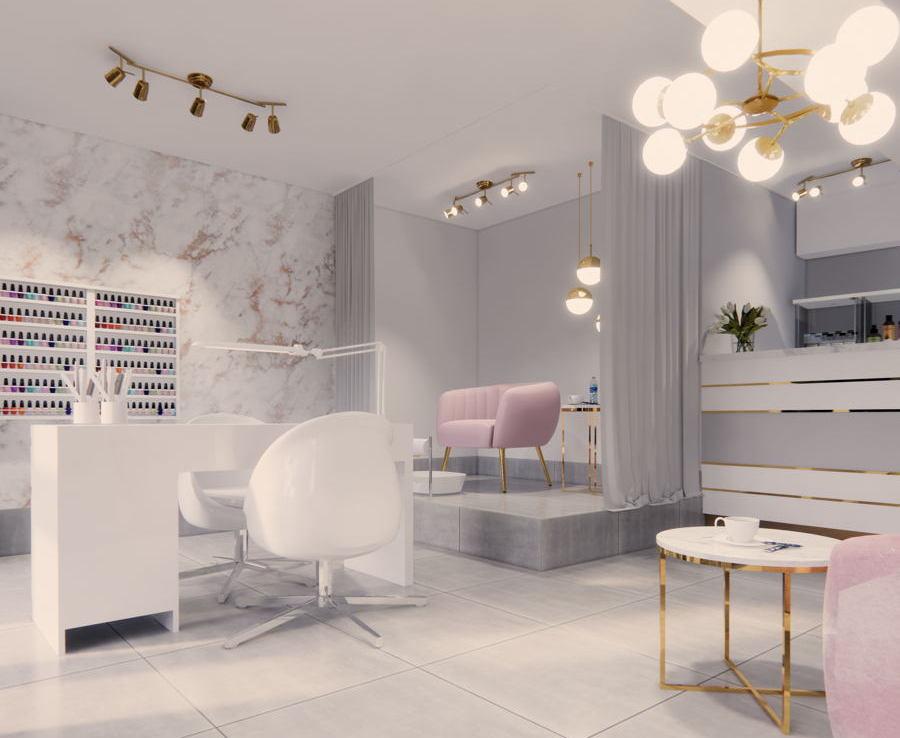 Projekt gabinetu kosmetycznego 4