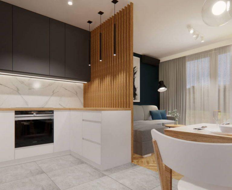 Aranżacja mieszkania 60 m2 w stylu skandynawskim