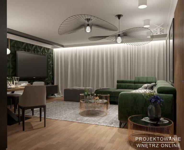 Nowoczesny salon projekt