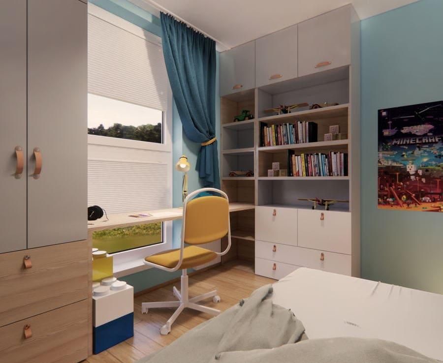 Pokój dziecięcy IKEA 3