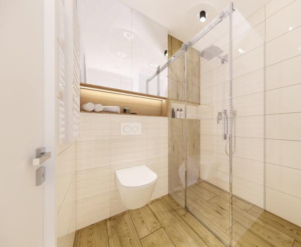 Projekt łazienki Cersanit 7