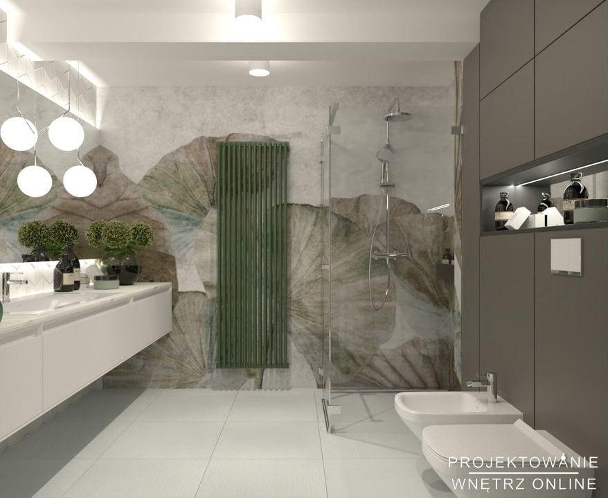 Aranżacja łazienki w stylu nowoczesnym 3